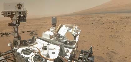 NASA's Mars rover Curiosity (Credit: NASA/JPL-Caltech/Malin Space Science Systems)
