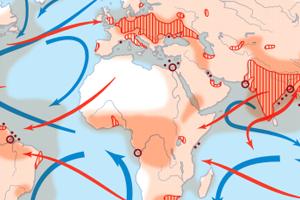 Global mercury transport (Credit: UNEP)
