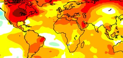 2012 global temperature anomaly (Credit: NASA/NOAA)