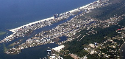The Orange Beach, Ala., coast (Credit: divemasterking2000, via Wikimedia Commons)