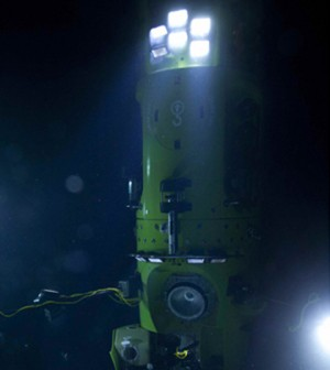 The Deepsea Challenge (Credit: Scripps Oceanography Institution)