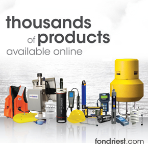 Fondriest Environmental monitoring equipment