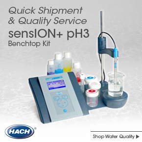 Hach sensION+ pH3 Benchtop Kit