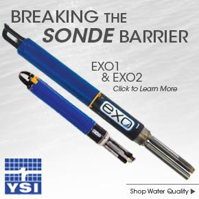 YSI EXO multiparameter sonde