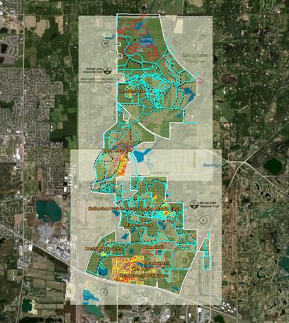 Chicago restoration map