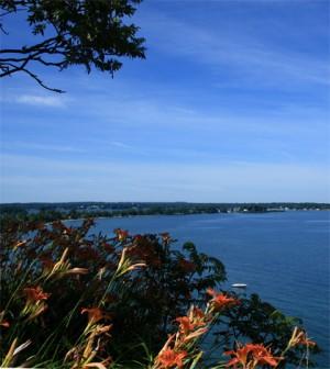 Overlooking Lake Ontario near Sodus Bay (Credit: John Menard, via Flickr)