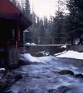 Mack Creek gaging station in Oregon (Credit: Oregon State University, Al Levno)