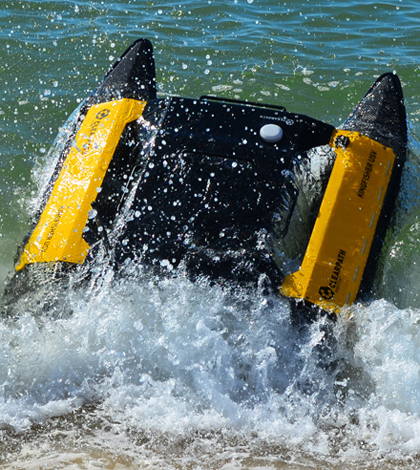 Kingfisher USV (Credit: Unmanned Systems Technology)
