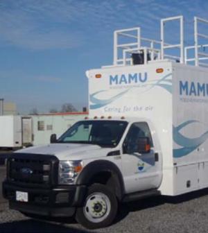 Mobile Air Monitoring Unit (Credit: Metro Vancouver)