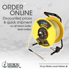 Heron dipper-T water level meter