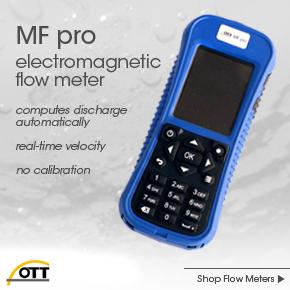 OTT MF pro flow meter