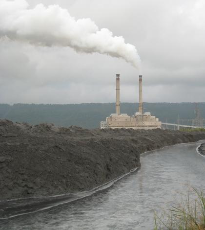 Steam electric power plant (Credit: EPA)