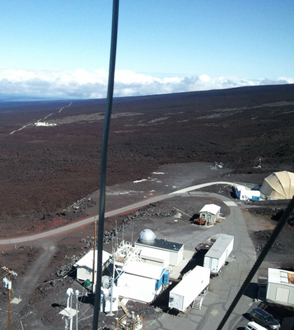 The Mauna Loa observatory where the Scripps CO2 data is collected (Credit: Scripps Institution of Oceanography)