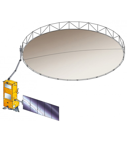 Biomass reflector antenna (Credit: ESA)