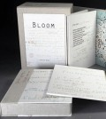 Bloom included prints; diagrams and thoughts from a lab notebook; and a poem written by Halliday. (Credit: Janine Wong)