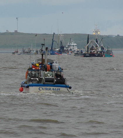 Commercial fishing on Bristol Bay (Credit: echoforsberg, via Flickr)