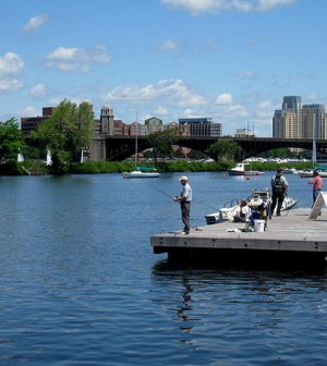 Charles River Esplanade in Boston (Credit: Daderot, via Wikimedia Commons)