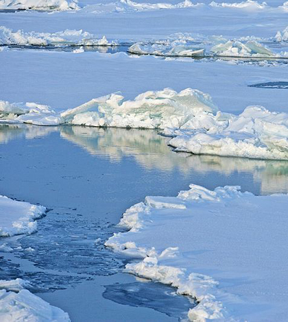 Arctic ice flow (Credit: NOAA Climate Program Office)