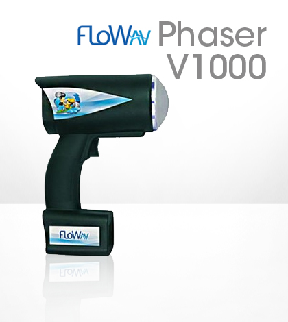 FloWav Phaser V1000 portable velocity meter