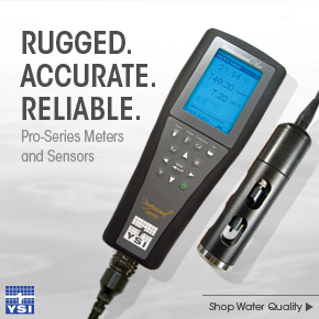 YSI Pro-Series dissolved oxygen Meters and Sensors