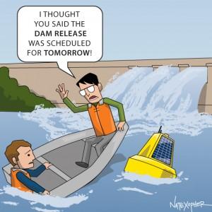 dam release