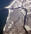 The St. Joseph River is among the Great Lakes tributaries tracked by the network (Credit: Doc Searls, via Flickr)