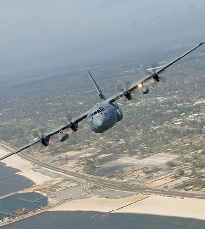 WC-130J Hurricane Hunter aircraft (Credit: U.S. Air Force, via Wikimedia Commons)