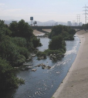 The Los Angeles River (Credit: Wikimedia Commons)