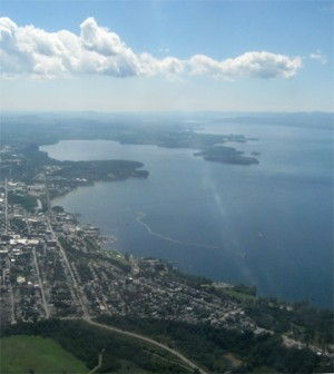 Lake Champlain (Credit: Nicki Dugan, via Flickr)