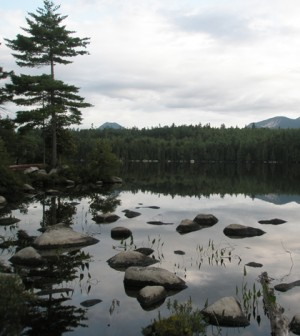 Knowlton Pond is among Maine's 5,500 lakes and ponds larger than 1 hectare (Credit: Ian McCullough)