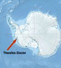 Location of the Thwaites Glacier (Credit: J.B. Bird/Jackson School of Geosciences)