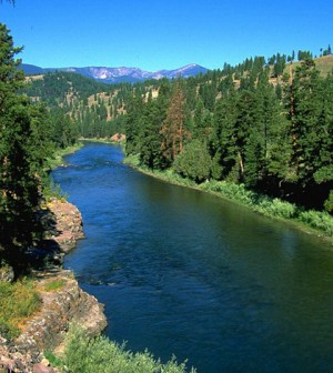 Clark Fork River (Credit: U.S. Bureau of Land Management, via Wikimedia Commons)