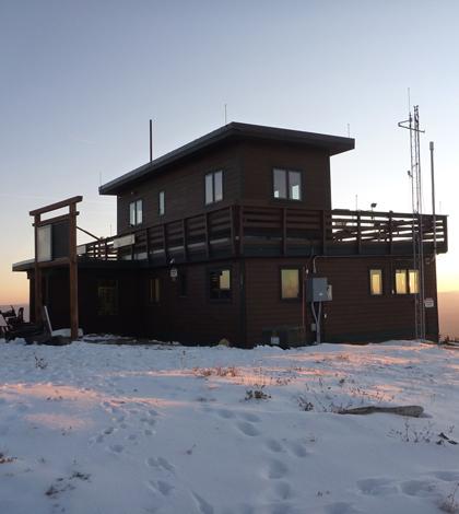 Storm Peak Laboratory sits atop Mount Werner near Steamboat Springs, Colo. (Credit: Storm Peak Laboratory)