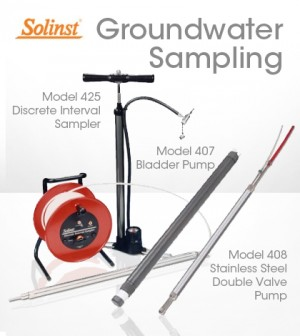 Solinst groundwater samplers