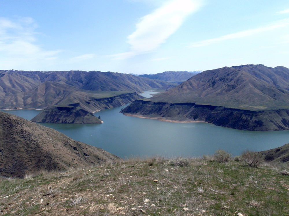 Arrowrock Reservoir (Credit: USGS)
