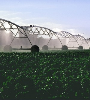 Center-pivot irrigation(Credit: USDA)