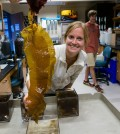 Smith Lab oceanography students are running experiments on the effects of ocean acidification on California seaweed species (Credit: Scripps Institution of Oceanography)