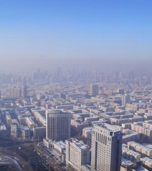 Smog over Harbin in December 2012 (Credit: Fredrik Rubensson, via Flickr)