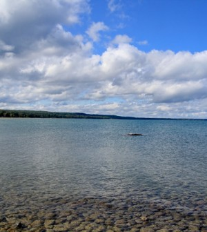 Lake Huron near Oscoda (Credit: stevendepolo, via Flickr)