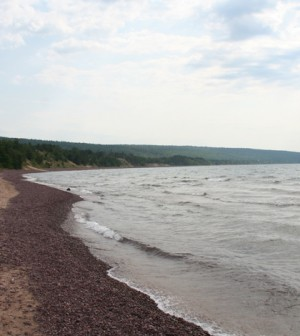 West side of the Keweenaw Peninsula on Lake Superior (Credit: Steven Isaacson, via Flickr)
