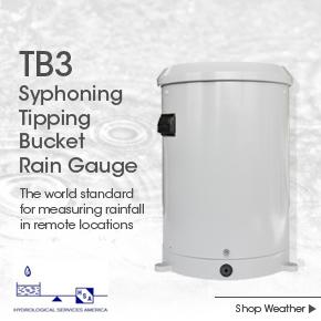 HSA TB3 Syphoning Tipping Bucket Rain Gauge
