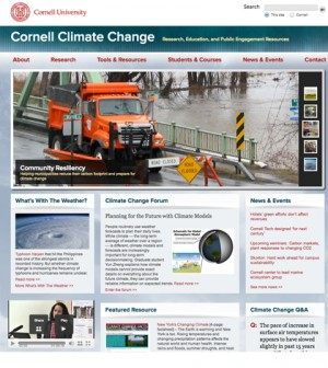 Cornell Climate Change Website