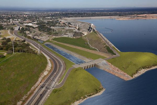 Sensors watch water quality near folsom dam spillway for Nimbus dam fishing