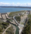 Construciton underway on the Folsom Dam Auxiliary Spillway project (Credit: U.S. Army Corps of Engineers)