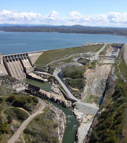 Sensors Watch Water Quality Near Folsom Dam Spillway