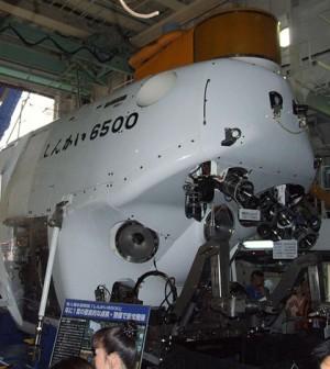 The Shinkai 6500 submersible (Credit: toshinori baba, via Wikimedia Commons)