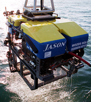 The Jason ROV (Credit: Woods Hole Oceanographic Institution)
