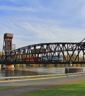 Mississippi River in Hastings, Minnesota (Credit: Michael Hicks, via Wikimedia Commons)
