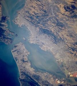 San Francisco Bay estuary (Credit: NASA, via Wikimedia Commons)