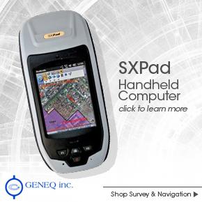 Geneq SXPad Handheld Computer